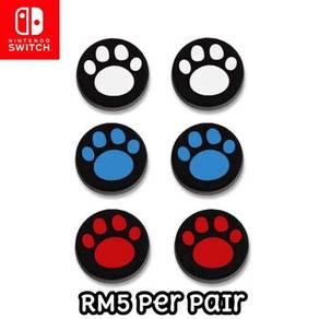Nintendo Switch Joystick Analog Grip Cover Cat Paw