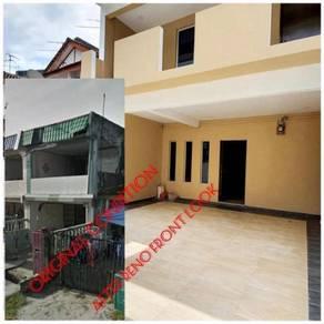 Mega ria double storey low cost medium-full loan