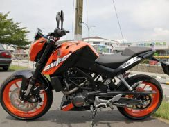 KTM Duke200 Promotion dep238