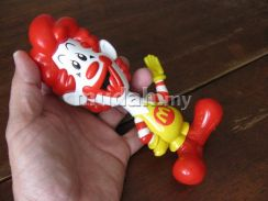 Original McDs Clown Toys