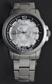 Alba Men Quartz Stainless Steel Watch VJ42-X008SBS