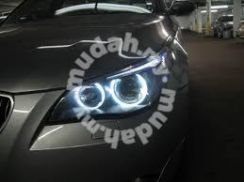Bmw e60 03 to 06 head lamp led ring with hid