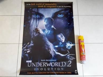 Poster Original UNDERWORLD 2 Limited Edition 2005