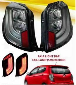 Perodua axia rear led light bar tail lamp