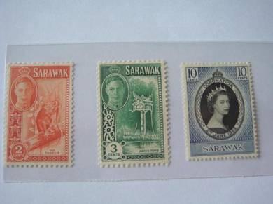 Sarawak Old Stamps Lot#8 - MLH