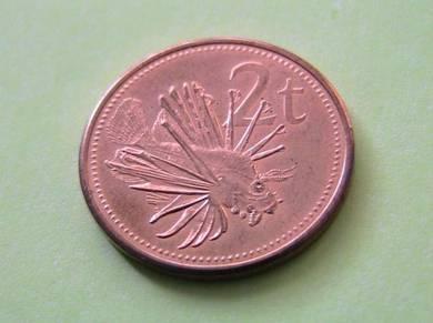 Papua New Guinea 2 Toea 2004