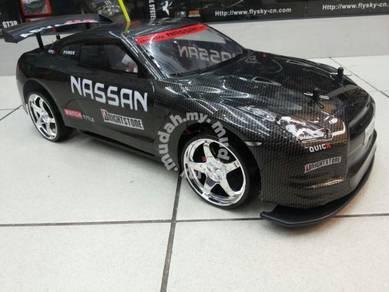 RC kereta drift car & Speed 1/10 scale 4WD RTR JB{