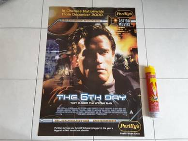 Poster Original THE 6TH DAY Limited Edition 2000