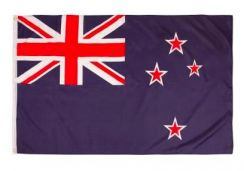 New Zealand Flag Polyester flag with two metal eye