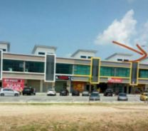 Brand NEW Double storey new shop at tepi jalan Jalan IM 3