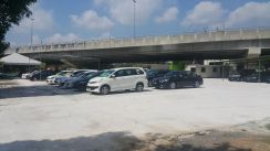 Cheras land for rent (used car autocity lot)