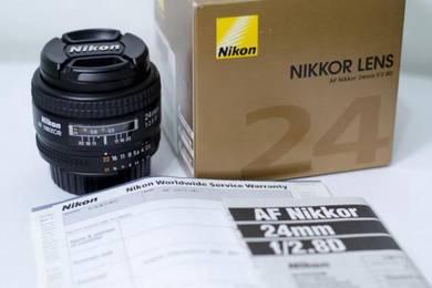 Nikon 24mm f2.8 AF-D (Bought in June 2017)