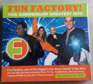IMPORTED CD Fun Factory 10th Anniversary Greatest