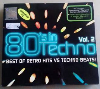 Imported CD 80's in Techno Vol.2 (2CD)