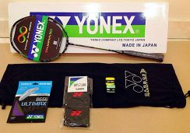7in1 Package Yonex Duora 10 Orange/Green SP 30lbs