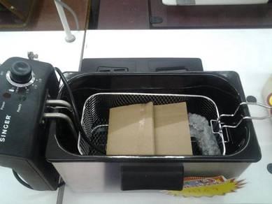 Electric Fryer Set Baru (3.5L)