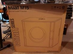 Turbosound Milan M15B Powered Subwoofer (Pair)