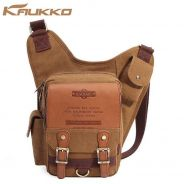 Men Sling Bag with Business Style Leather