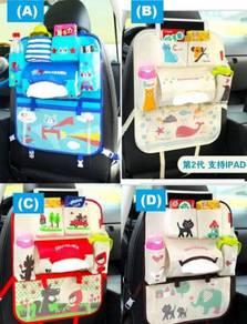 Kids Organizer Car Seat Storage Bag Ipad Hold