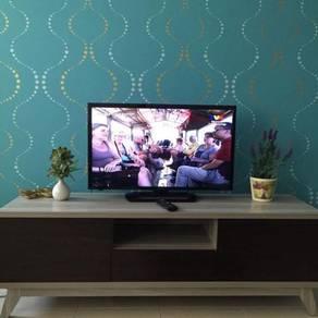 [Fully Furnished} Clean & Well Maintain Setia Alam Apartment, Sek U13