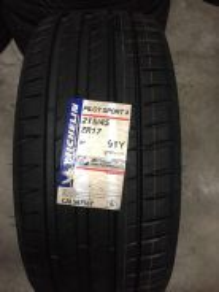 Tayar Baru 215 45 17 Michelin PS4 New Tyre
