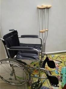 Wheelchair & tongkat