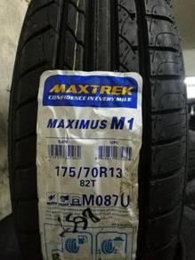 Tayar Baru 175 70 13 Maxtrek New Tyre