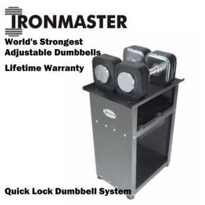 Ironmaster Quick Lock Adjustable Dumbbell Set