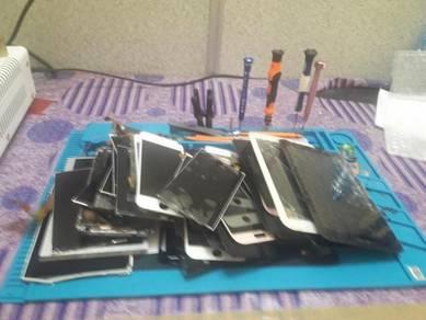 Repair lcd hendphone di perlis