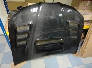 Subaru Impreza WRX STI Carbon Fiber Bonnet bonet