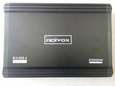 Power Amplifier ADIVOX 4 Channel 20000Watt
