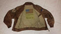 Vintage 1976 us flight jacket