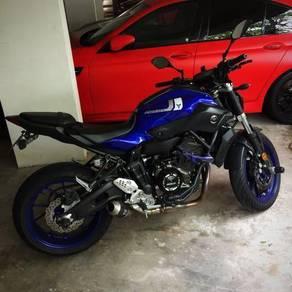 2017 Yamaha MT-07 (used superb condition)