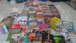 GIANT collection of 466 children�s/adult books