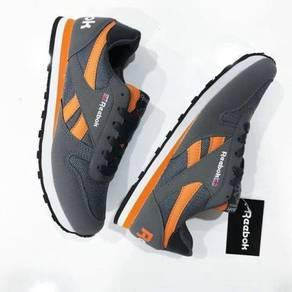 Rebok classic grey orange