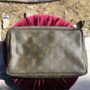 LV Clutch Zip Rosak