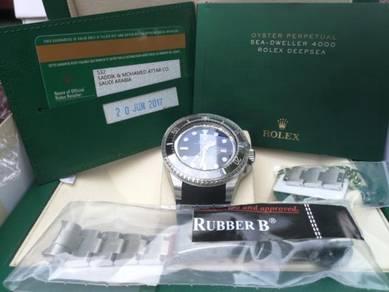 Rolex DSSD D Blue 116660 MK1 2017 JC Ed +Rubber B