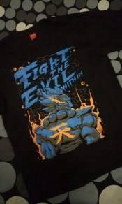 Street fighter Gouki Akuma shirt