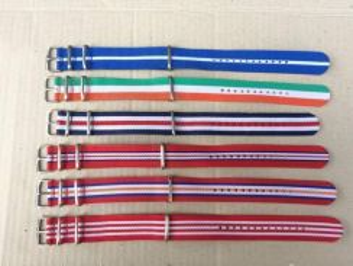 Nato Stripe Strap 22mm Nylon Watch