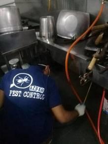 Pest control di restoran bistro cafe kiosk outlet