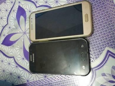 Samsung j1 sama j2.