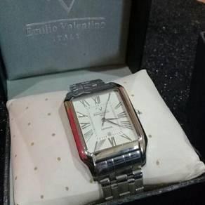 Jam tangan emilio valentino italy