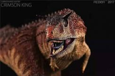 ReBor carnotaurus crimson king