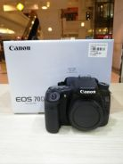 Canon eos 70d body (sc 4k only) 99.99% new