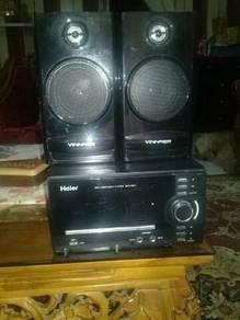 Haier amp with vinnfier speaker
