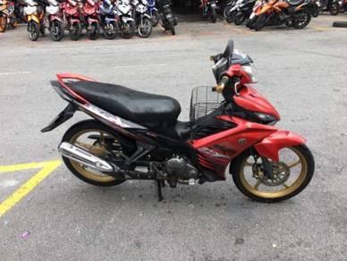 Yamaha 135LC (WVN409) MOTOR CANTIK