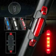 USB Rechargeable Bicycle LED Rear Light BIKE