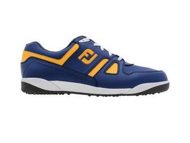 Footjoy GreenJoys Spikeless Golf Shoes Blue