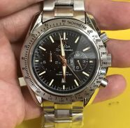 OMEGA Speedmaster Chronograph Black Dial Steel Men