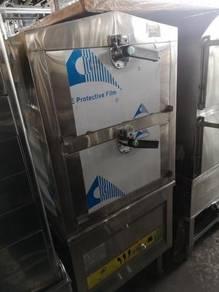 GAS Steamer 2 TRAY NEW